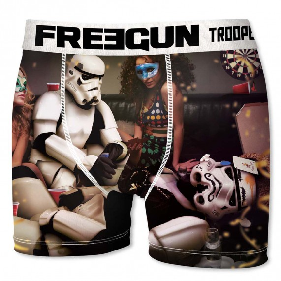 Lot de 6 Boxers Homme Stormtrooper Shepperton Design (Boxers) Freegun chez FrenchMarket