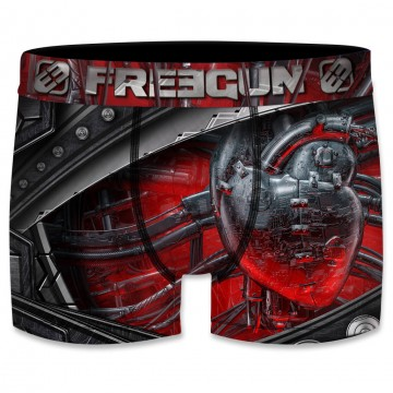 Boxer Homme Steampunk - Rouge