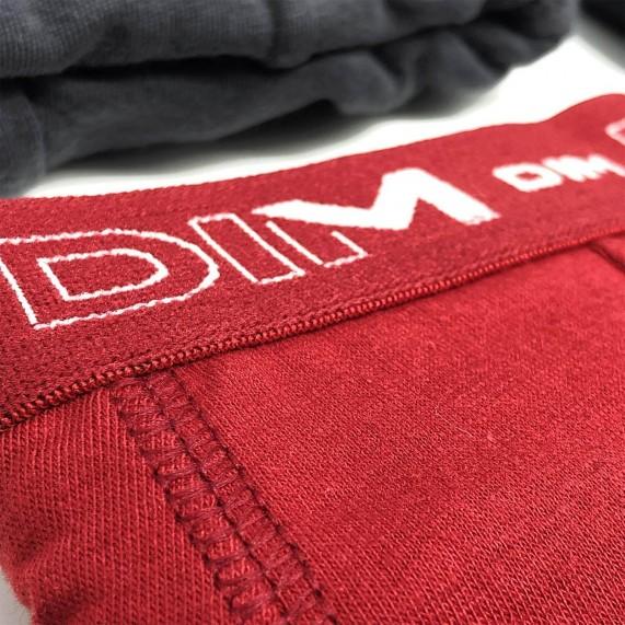 Lot de 6 Boxers Homme Coton Stretch (Boxers) Dim chez FrenchMarket