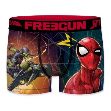 Boxer FREEGUN Garçon Ultimate Spider-Man Green Gobelin  (Boxers) chez FrenchMarket