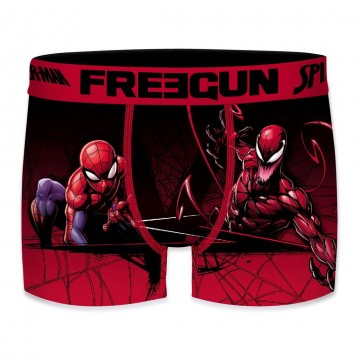 Boxer FREEGUN Garçon Ultimate Spider-Man Black  (Boxers) chez FrenchMarket