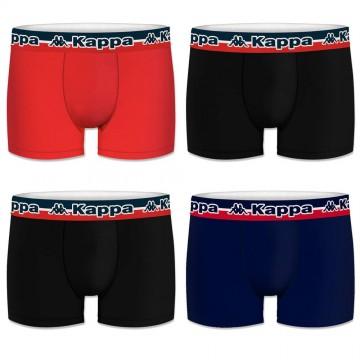 Boxers Homme Pack de 4 Coton Tri (Boxers) Kappa chez FrenchMarket