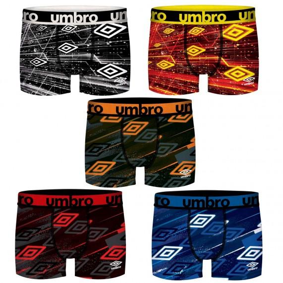 Lot de 5 Boxers homme Sport (Boxers) Umbro chez FrenchMarket