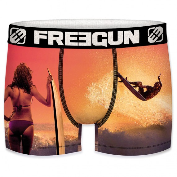 Boxer Homme Summer Collection Wave Surf (Boxers) Freegun chez FrenchMarket