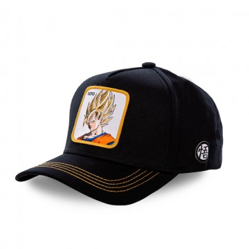 Casquette Baseball Dragon Ball Z San Goku (Casquettes) Capslab chez FrenchMarket