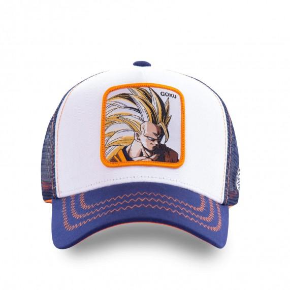 Casquette Trucker Dragon Ball Z San Goku (Casquettes) Capslab chez FrenchMarket