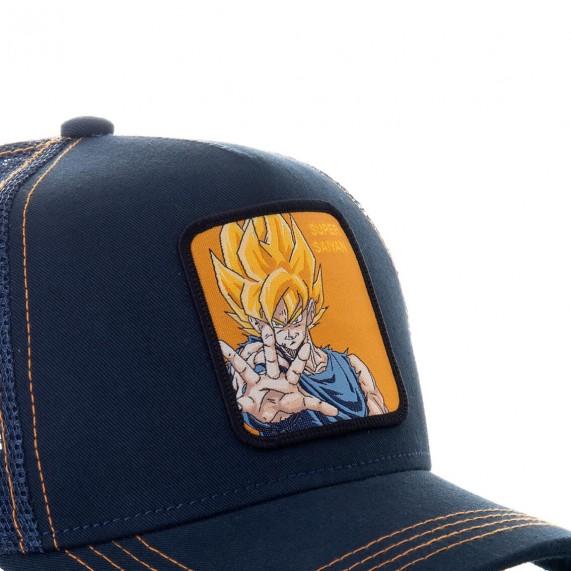Casquette Trucker Dragon Ball Z GOKU Super Saiyan (Casquettes) Capslab chez FrenchMarket