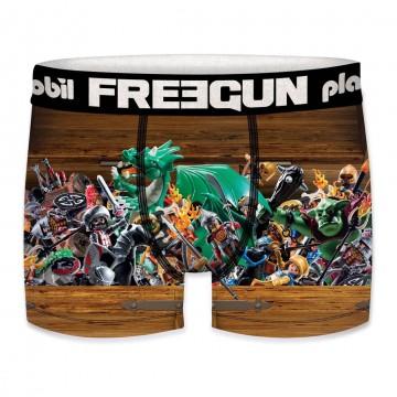 Boxer FREEGUN Garçon Playmobil Coffre (Boxers) Freegun chez FrenchMarket
