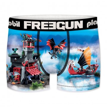 Boxer FREEGUN Garçon Playmobil Dragon (Boxers) Freegun chez FrenchMarket
