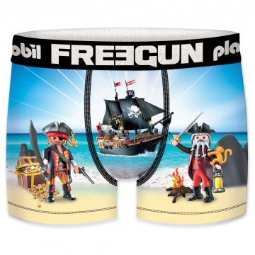 Boxer FREEGUN Garçon Playmobil Pirate (Boxers) Freegun chez FrenchMarket