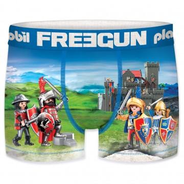 Boxer FREEGUN Garçon Playmobil Bataille  (Boxers) chez FrenchMarket